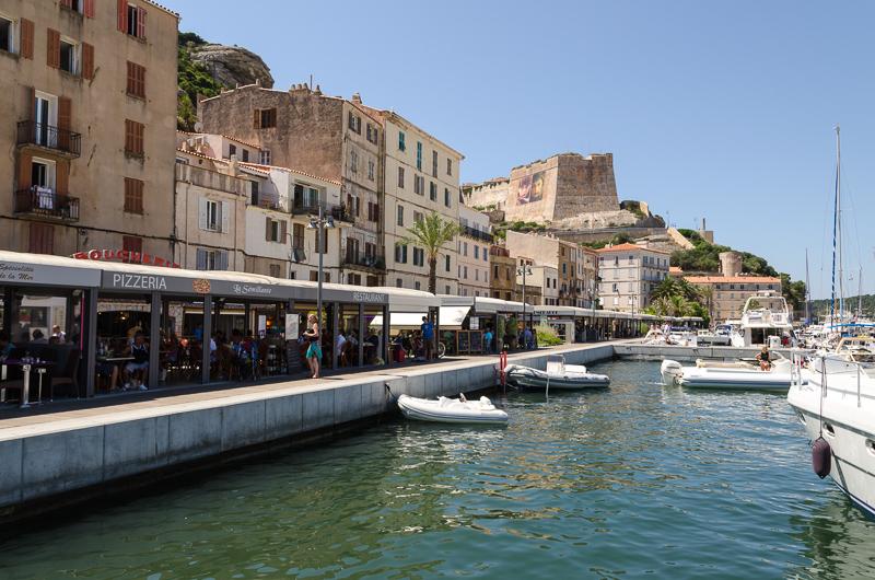 Port de Bonifacio et la citadelle