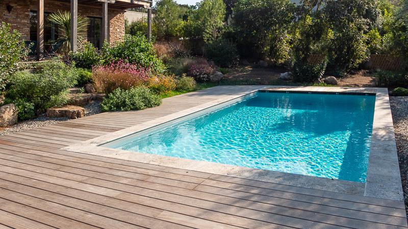Extérieur villa Casasou avec piscine